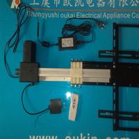 """600mm stroke  2000N tv lift system for 42"""" tv"""