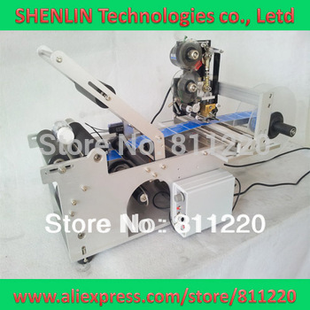 Labeling machine MT50 for round bottle label applicator labeller code hot stampping tags coding printing sticking&sticker tools