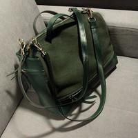 2014 Women Fashion PU Leather Bags Motorcycle Handbag Vintage Shoulder Ladies Totes High Quality QW140