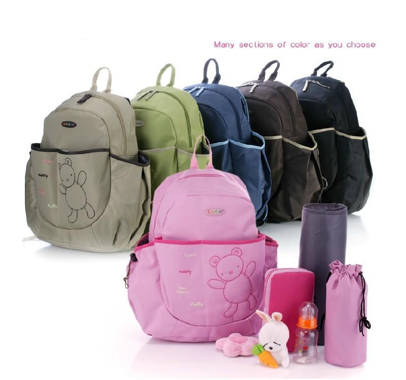 Baby Girl Diaper Bags Pink Bag Set Baby Diaper Bags