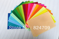 Free Shipping 1mm Thickness 20*30cm Rainbow Colour 20 Pcs Mix  Colours  Eco-friendly  Nonwoven Fabric DIY Felt Fabric Craft Felt