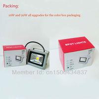 10W 20W LED Floodlights AC85-260V LED flood light   LED Landscape Lighting Free shipping