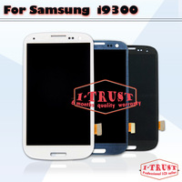 100% Guarantee Original LCD Screen for Samsung Galaxy S3 SIII i9300 with Touch screen Assembly 5pcs lot Free shipping