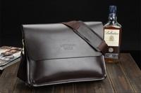 Genuine Leather Handbag Fashion Men Messenger Bags Men's Business Retro Man Shoulder Bags