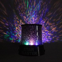 Colorful led Star Projector Lamp Projection led Night Light Led Star light Starry lights LED Sky Star Master Light free shipping