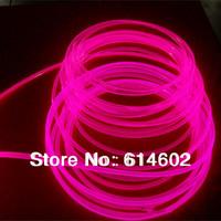 Free shipping 100m/roll 3.0mm side glow optic fiber