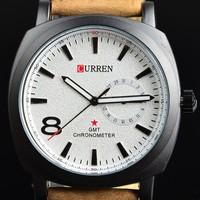 2014New Curren Waterproof Gold Quartz Business Men's Watches Fashion Military Army watch ,High quality Women Dress WatchesML0107