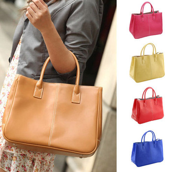 Fashion 12 color PU Leather Ladies Women desigual Handbags Bags Vintage Hobo Briefcase BAG