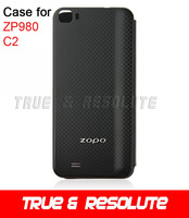 Original ZOPO Flip Leather Case For ZOPO C2 ZP980 Smart Phone SG post Free Shipping