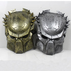Free Shipping 2pcs/lot Costume Ball Aliens vs Predator AVPR Mask Masquerade Party Halloween Dance Birthday(China (Mainland))
