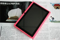 Free Shipping Branded New 7 inch Touch Screen Android 4.2 A-GPS Multi Language A23 Dual Core Q88 Tablet  PC