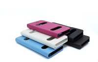 30pcs/lot Stand holder leather case for iphone4 4s 4g functional leathef case CID display make phone omnipotent free shipping