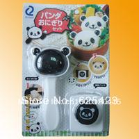 Hot Sale! Free Shipping Brand New ABS Cartoon Panda Shape DIY Plastic Sushi Mold Sushi Maker Sushi Tools & Rice Balls Mould