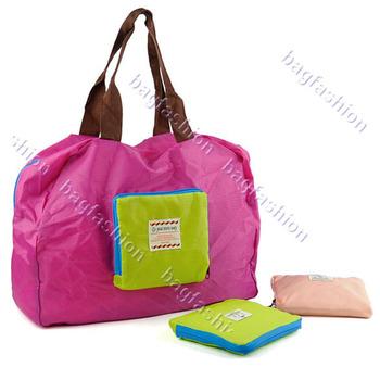 New Beauty Waterproof Shopping bag Multifunction Zipper Nylon Storage Bags Organizer 14116 F