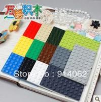 Promotion FREE shipping plastic building blocks 50pcs/lot  6*10 studs enlighten bricks