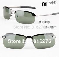 Free shipping NEW Band Aviator Designer Men Polarized Night Vsion Driver Glasses Drivers Goggles UV400 shade sunglasses
