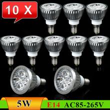 10pcs/Lot E14 5W New Energy-Saving High Brightness LED Spot Light------Limited Time Offer(China (Mainland))
