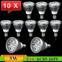 10pcs/Lot E14 5W New Energy-Saving High Brightness LED Spot Light------Limited Time Offer