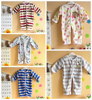 free shipping Explosion models selling export fleece newborn leotard Romper clothes to climb romper