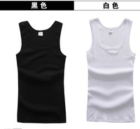 2013 mens cotton tank tops mans casual cool vest/underwaist, sports & slim edging design men's sleeveless shirt wholesale&retail