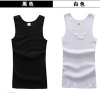 2013 mens cotton tank tops mans casual cool vest/underwaist, sports & slim edging design men's sleeveless shirt wholesale&retail