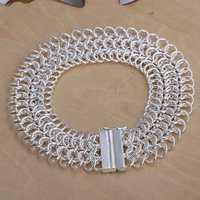 Free Shipping Wholesale 925 Sterling Silver Bracelets & Bangles,925 Silver Fashion Jewelry,Big Centipede Bracelet SMTH005