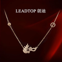 fashion 14k rose gold necklace mask female short paragraph clavicle chain jewelry christmas sweaters for women