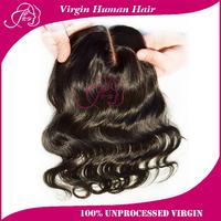 100% Human Hair Brazilian Virgin Hair Body Wave Top Lace Closure 10-24inch Natural Color Free Shipping