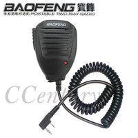 Original BAOFENG Speaker Mic Microphone for Portable Two Way Radio Walkie Talkie UV-5R UV-5RE Plus BF-888S UV-B5 UV-B6 GT-3 Mark