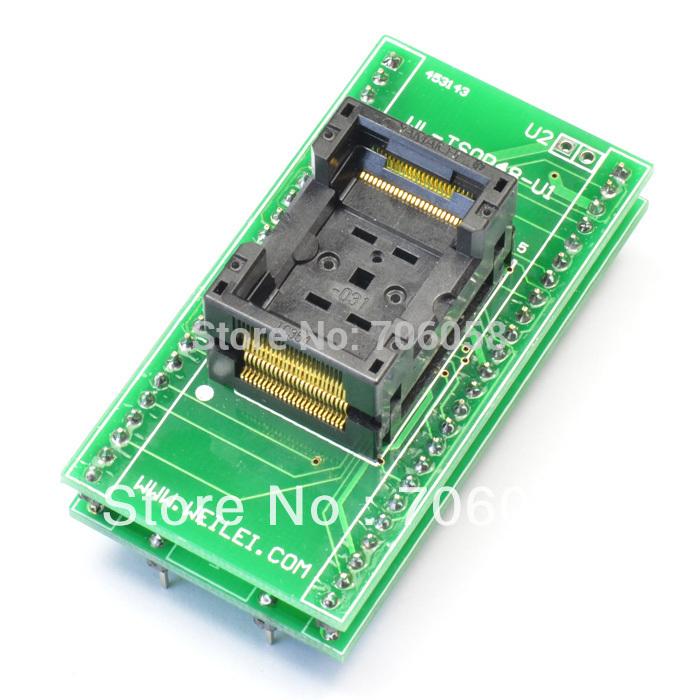 TSOP48 to DIP48 Socket Adapter,Genuine Xeltek TSOP48 TO DIP 48 TSOP 48 D48 Adapter Socket SA247 10487(China (Mainland))
