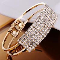 Mini order $5 (mix order)Fashion And Personality Hot Sale Fashion Bangle Jewelry Wholesale Crystal Rinestone Bow Bracelet