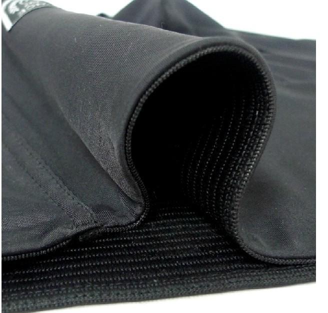 closed belly fat burning shapewear panty girdle male Black color