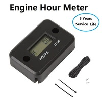 Engine Hour Meter for gasoline Engine,Marine,Motorcycle,Snowmobil,ATV .waterproof