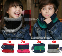 New 2013 Hot Sale Baby scarf, children cotton+ wool scarf winter warm Knitted scarves shawl wholesale retail Free shipping