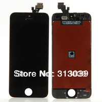 High Quality,Tested, 10x  LCD Screen Display Touch Digitizer Assembly  Black Fit For iPhone 5 5G BA145