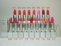 3pcs/lot high quality CD brand makeup same original lustre lipstick rouge replenishing Lipstick 3.8g 17colors free shipping