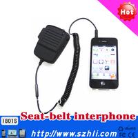 Hands Free Talkie i801S, Hands free Kit for Mobile Phones, Seatbelt Hands-free Car Kit