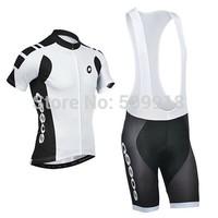 road  men's sportswear mountain bike Cycling jersey/clothing&cycling bib Shorts sets ropa ciclismo 2014 white