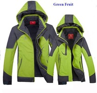 Free shipping 2014 new women's high quality waterproof coat + outdoor winter jacket,climbing jacket,ski suit lovers style