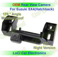Free shipping! HD Rear View Suzuki SX4(Hatchback) 2009- 2011 CCD night vision car reverse camera auto license plate light camera
