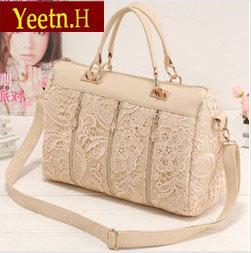 3325 Hot Sale!Women's Lace Handbag Vintage  Shoulder Bags Messenger Bag Female Totes