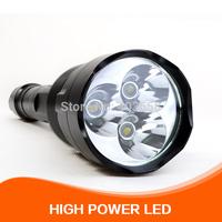 TrustFire CREE XM-L T6*3  LED Flashlight 3800 lumens 5-Mode LED Flashlight Torch