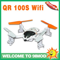 Christmas Gift!New Function!Support Android System!Walkera New UFO QR W100S FPV  Wifi RC Mini  Quadcopter