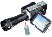 Remote control  Digital Video Camera with telephoto lense