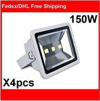 (4pcs/lot) AC85-265V 150W LED Floodlight Outdoor 150W LED Flood light lamps waterproof Landscape lighting spot LED projector