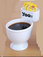 Free Shipping Big Size Toilet Mug Coffee Tea Multi Functions Mugs Fun Gag Novelties Funny Products Best Gifts