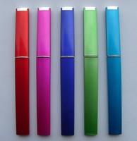 "100X New Hardcase Nail File Protectors 5.5"" Glass Nail File Elegant Hard Case FREE SHIPPING"
