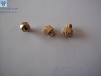 Free shipping Reprappro Mendel Huxley3D printer pure copper nozzle