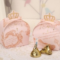 Free Shipping-- 100pcs/lot Hot Damask Wedding Candy Box,Party Gift Box, Paper Box wedding favors and gifts shipping box,gift box