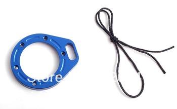 Billet aluminum lanyard ring mount adapter for gopro camera(blue)